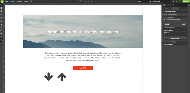 Jak stworzyć stronę internetową - krok 2