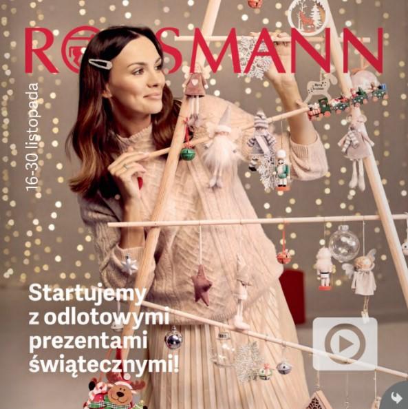 gazetka rossmannn podczas black friday