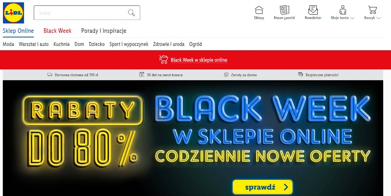 Black friday 2020 w lidlu